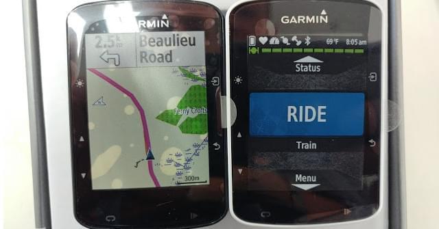 Porównanie Garmin Edge 520 i Edge 520 Plus
