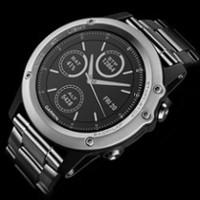 Fenix 3 Sapphire Tytanowy - Najwyższej jakości materiały w najnowocześniejszym sportowym zegarku GPS — wyraźna deklaracja stylu w eleganckiej formie.